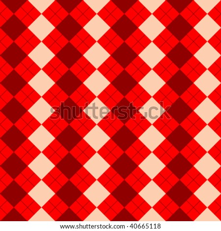 sweater texture mixed red texture, vector art illustration - stock vector