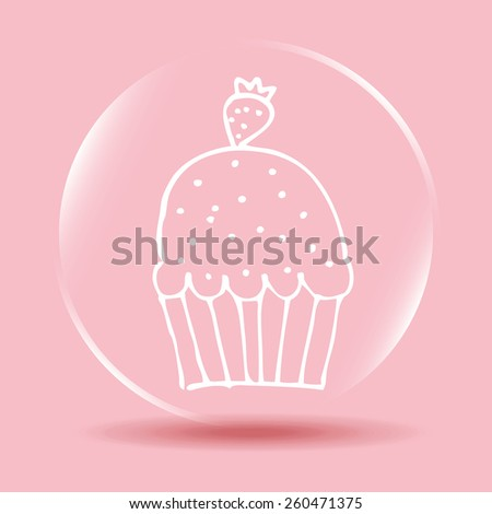 sweet bakery design, vector illustration eps10 graphic  - stock vector