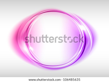 sweet circle on the light background - stock vector