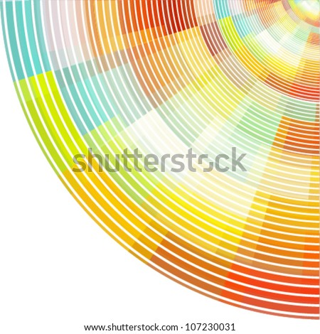 sweet color spectrum (ideal for brochure, catalog layout works) - stock vector