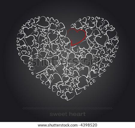 Sweet Heart - stock vector