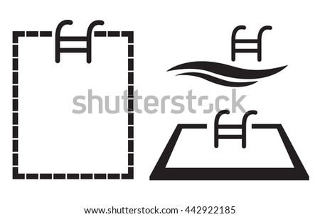 Swimming Pool Icon Stock Images Royalty Free Images Vectors