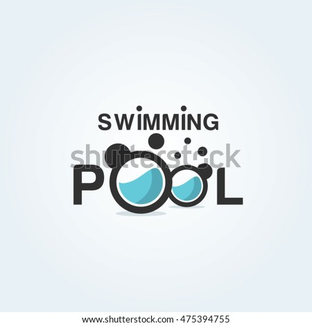 swimming pool logo swim club swimming training academy