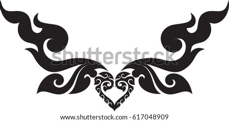 black silhouettes horns vector stock vector 156777284 shutterstock. Black Bedroom Furniture Sets. Home Design Ideas