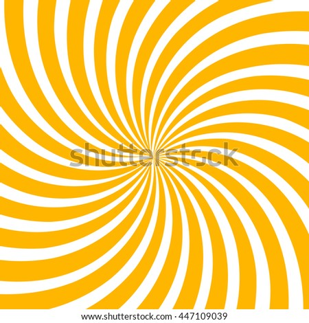 Swirling radial pattern background. Vector illustration for cute pretty circus design - stock vector