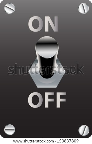 switch - stock vector