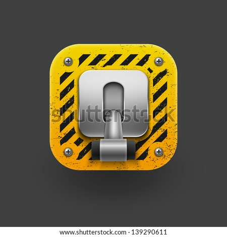 Switch icon. Vector eps 10 - stock vector