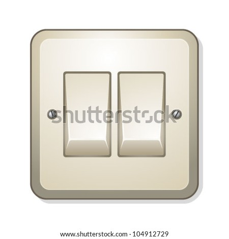 Switch Off - stock vector