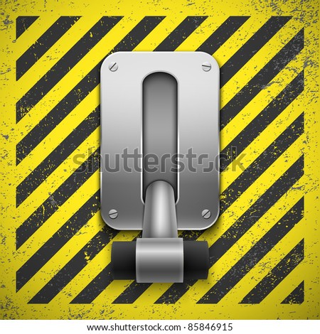 Switch. Vector illustration. Eps10 - stock vector