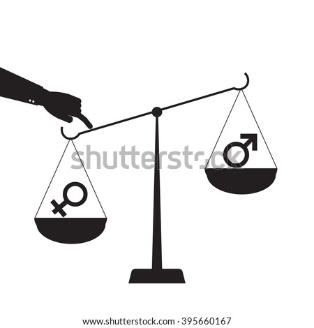 Symbol Gender Equality Human Rights Women Stock Vector Royalty Free