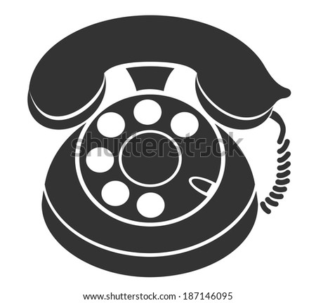 Symbol of Phone - stock vector
