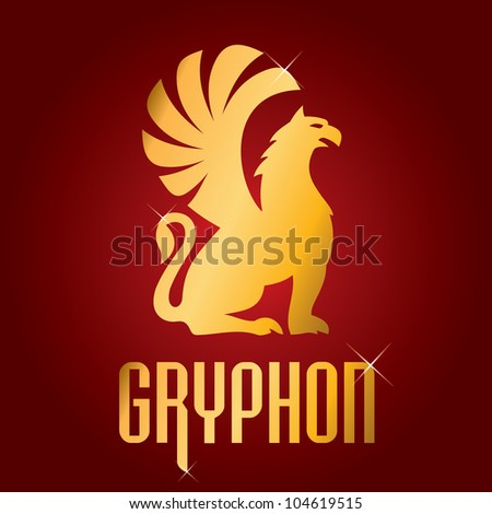 symbol of the gryphon's - stock vector