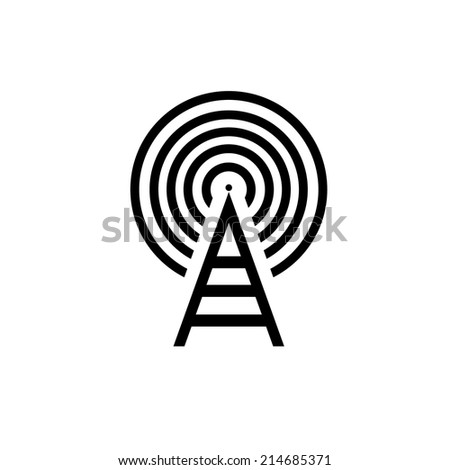 symbol wifi 4 - stock vector