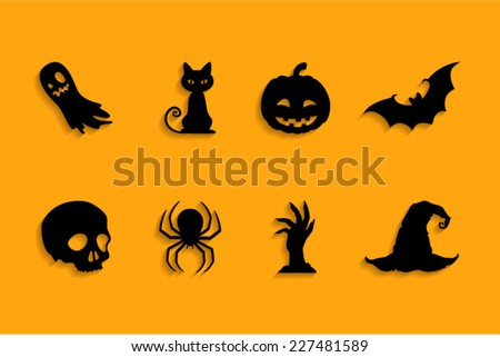 Halloween Symbols Stock Images, Royalty-Free Images & Vectors ...