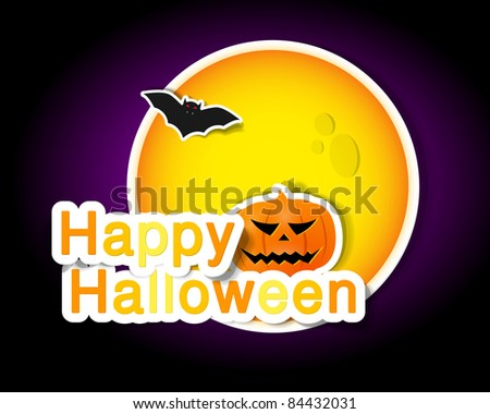 symbols of Halloween for poster