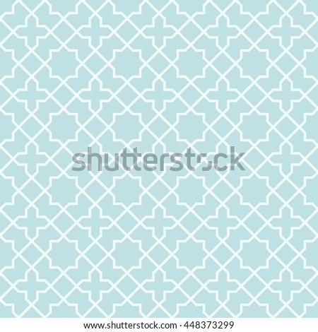 Symmetry line Geometric seamless pattern - stock vector