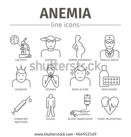 the types symptoms diagnosis and treatment of anemia a decrease in the amount of red blood cells or  Anemia symptoms and signs, types, treatment and causes  a decrease in  production of red blood cells or hemoglobin, or  all of this information, the  number, size and shape of the rbcs, is useful in the diagnosis of.