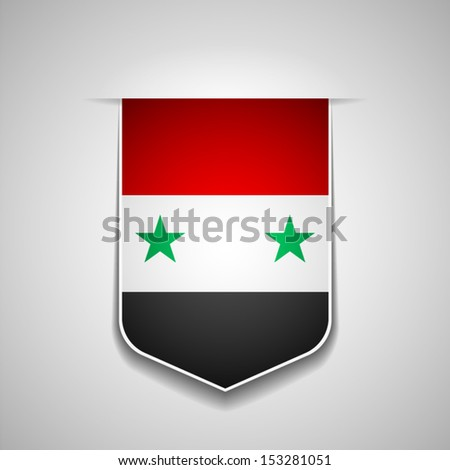 Syria - stock vector