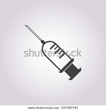 Syringe icon. Syringe icon vector. Syringe icon simple. Syringe icon app. Syringe icon web. Syringe icon logo. Syringe icon sign. Syringe icon ui. Syringe icon flat. Syringe icon eps.Syringe icon art. - stock vector