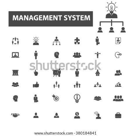 system icons - stock vector