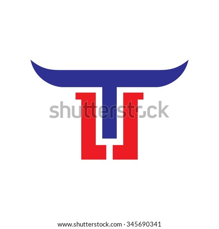 T and L logo vector. - stock vector