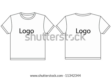 t-shirt - stock vector