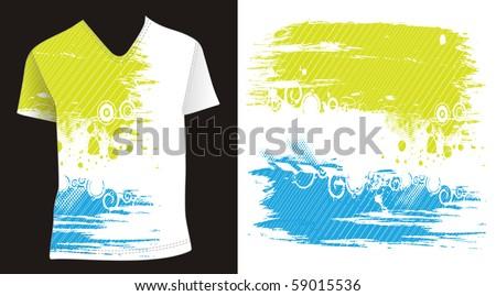 Tshirt Design Template Editable Vector Illustration Vector – Editable Leaf Template