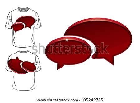 T-shirt design. Vector illustration