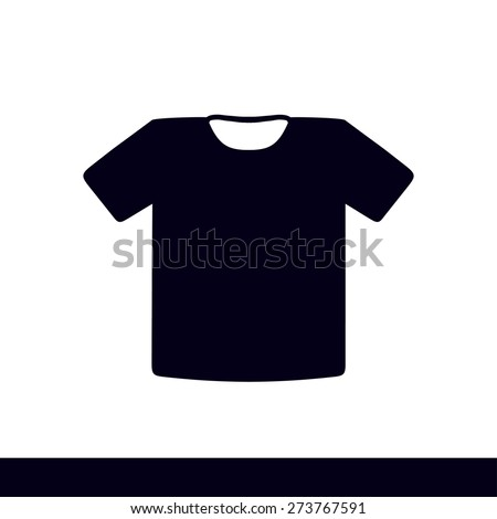 Black t shirt style dress vector