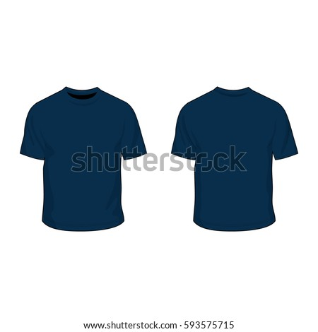 Navy blue stock images royalty free images vectors for Navy blue t shirt template