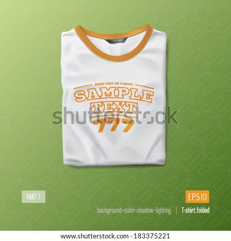 T shirt vector illustration - stock vector