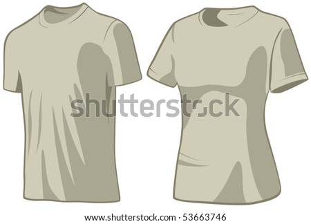 T-shirts - stock vector