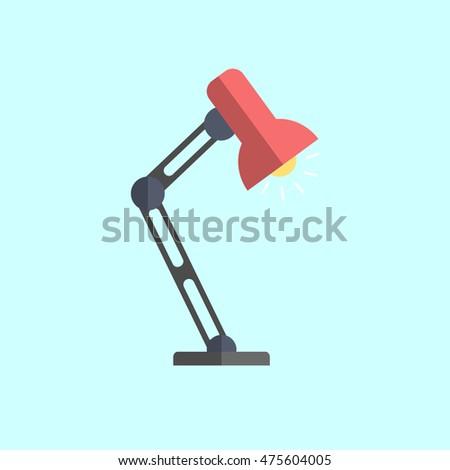 Banque dImage Libre de Droit Photos Vecteurs et Vid o – Desk Lamp Logo