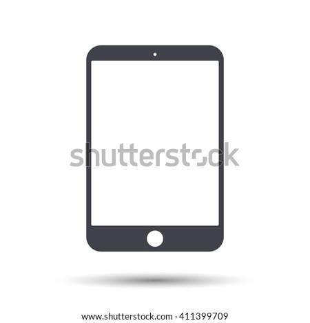 Tablet icon. Tablet vector icon, Tablet icon illustration, Tablet icon eps. Tablet icon flat. Tablet icon object. Tablet icon image. Tablet icon jpg Tablet icon pictogram. Tablet icon art stock vector - stock vector