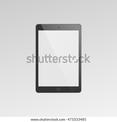 Tablet icon. Vector illustration