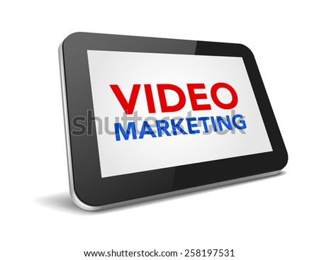 tablet pc with text top news on display over white background , vector illustration eps10 - stock vector
