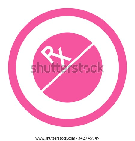 Tablet vector icon. Style is flat rounded symbol, pink color, rounded angles, white background.