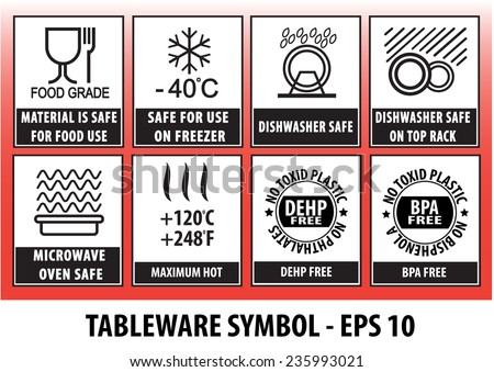 Tableware Symbol Stock Vector Royalty Free 235993021 Shutterstock