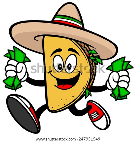 Taco with Money