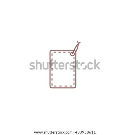 tag, label, price tag, label, icon - stock vector
