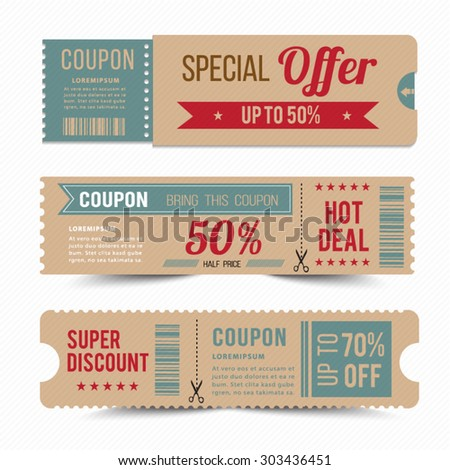 Tag price offer and promotion. - stock vector
