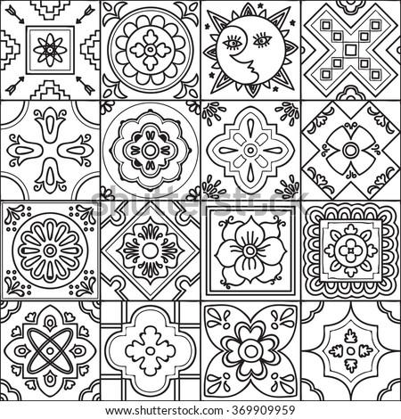 Talavera Coloring Pages