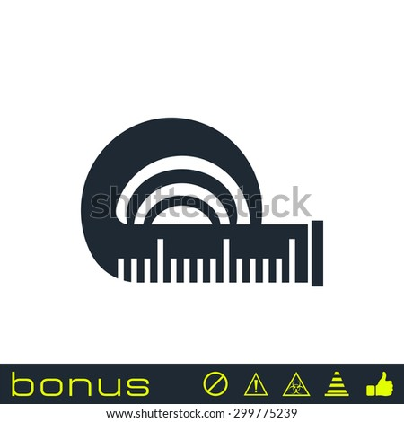 Tape Measure Icon Stock Images, Royalty-Free Images ...