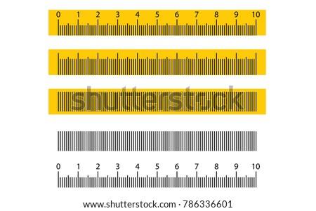 tape ruler metric measurement metric ruler stock vector 786336601 rh shutterstock com ruler vector to scale ruler vector ai