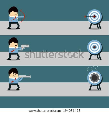 Target - stock vector