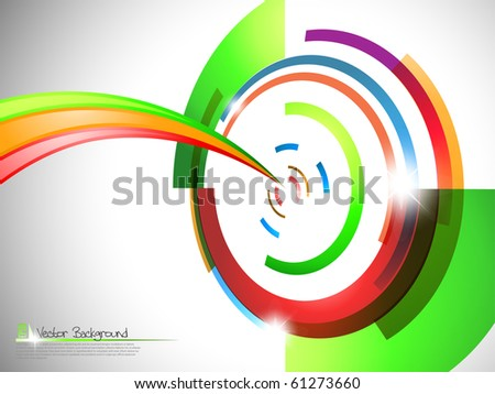 Target background. Vector illustration. - stock vector