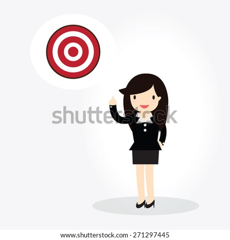 Target Concept - stock vector