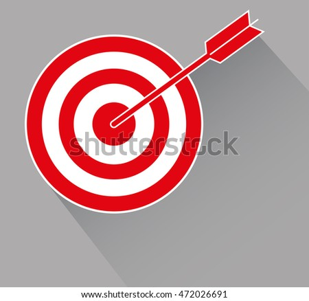 Target, Goal. Vector Illustration.