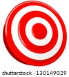 target icon - stock vector