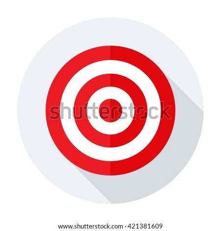 Target icon flat. Target icon art. Target icon web. Target icon new. Target icon www. Target icon app. Target icon big. Target icon  ui. Target icon. Target icon site Target icon jpg. Target icon sign - stock vector